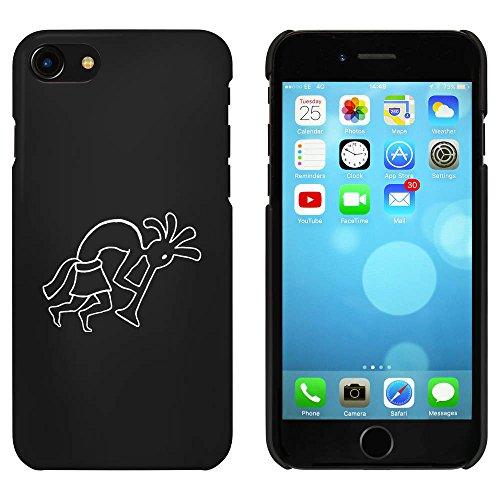Noir 'Kokopelli' étui / housse pour iPhone 7 (MC00068847)