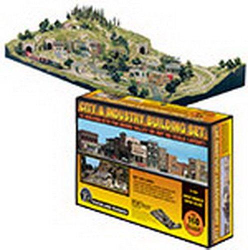 ■【KATO/カトー】(00201486)ウッドランド (HO) 町と工場キット ストラクチャー 鉄道模型 外国製 HOゲージ