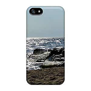 High-quality Durability Case For Iphone 5/5s(fishing From A Jetty)
