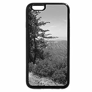 iPhone 6S Case, iPhone 6 Case (Black & White) - Pine tree