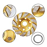 SogYupk 4-Inch Concrete Turbo Diamond Grinding