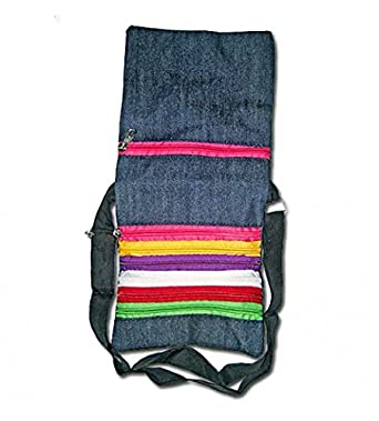 Stop Here Multichain Design Jeans Sling Bag: Amazon.in: Clothing ...