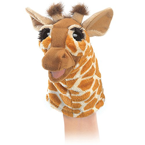 Folkmanis Little Giraffe Hand -