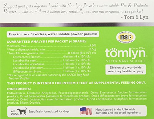 Tomlyn Pre Probiotic for Dogs 30pk Probiotics