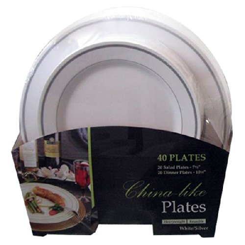 Premium Quality Heavyweight Plastic Plates