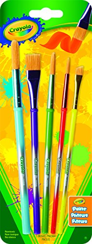 Crayola; Paint Brush Set; 5 ct.; Arts and