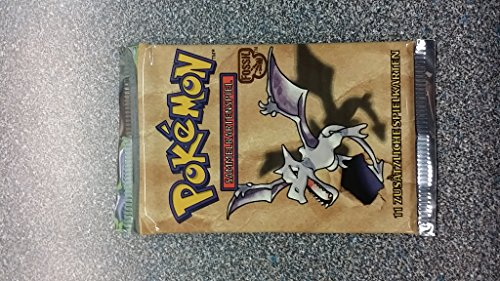 Pokemon Fossil German Booster Pack (Fossil Pokemon Card)