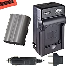 EN-EL3e Battery And Battery Charger for Nikon D90 D200 D300 D300S D700 Digital SLR Camera + More!!