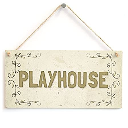 chuanghe3943 Cartel de Regalo para casa de Juegos para niños ...