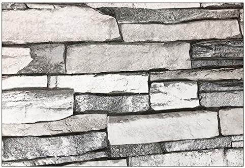 ケイ・ララ 壁紙 はがせる シール 【石目柄の貼ってはがせるのり付き壁紙シール】 幅50cm×10cmサンプルサイズ 壁紙 シール リメイクシート y3