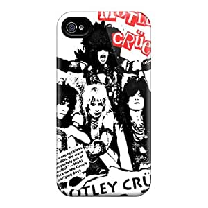 Bumper Hard Phone Cases For Iphone 6plus (bhh2111Sveh) Customized Trendy Motley Crue Image