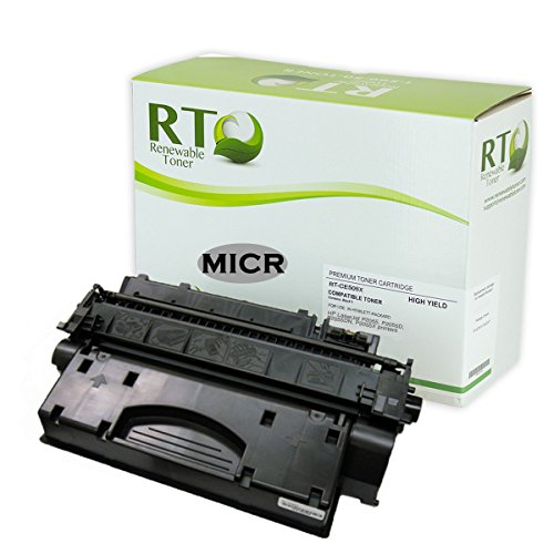 Renewable Toner 05X Compatible MICR Toner Cartridge (High Yield) HP CE505X for HP LaserJet P2055 Printer Series