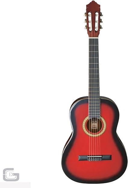 Ashton spcg14 TRB Pack guitarra clásica (Tamaño 1/4, con funda): Amazon.es: Instrumentos musicales