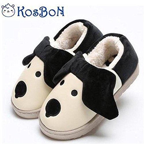 "eb411d905705 Kosbon 7.9""Inside Baby Soft-sole Anti-slip Winter Thickened Slippers ..."