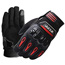 Cycling Gloves for Men and Women,Businda Touchscreen Full Finger Gloves Waterproof Bicycle Motorcycle Riding Pad MTB Gloves