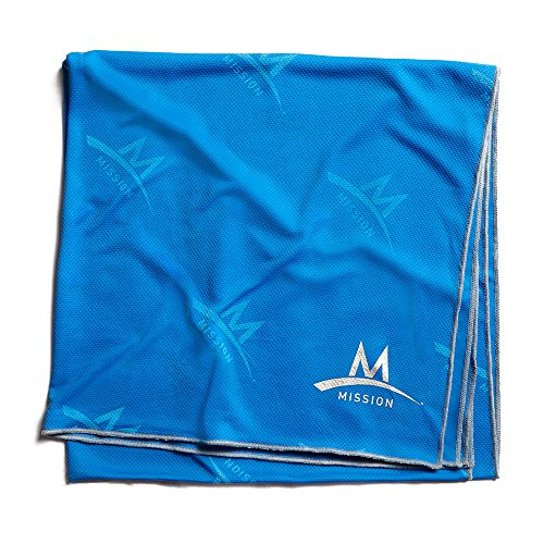 Mission Enduracool Max Recovery Cooling Towel, Blue, XX-Large