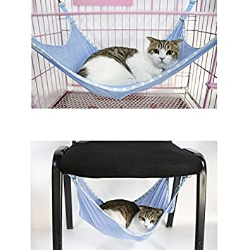 homgaty pet cat summer mesh hammock animal bed hanging cage radiator bed pad cradle  forter basket homgaty pet cat summer mesh hammock animal bed hanging cage      rh   amazon co uk