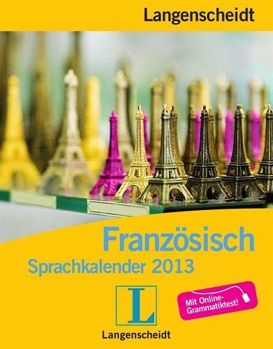 Langenscheidt Sprachkalender 2013 Französisch - Abreißkalender