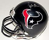 "Tyler Ervin #34 Signed Houston Texans Mini-Helmet (JSA COA) JSA ""Signature Debut"" COA"