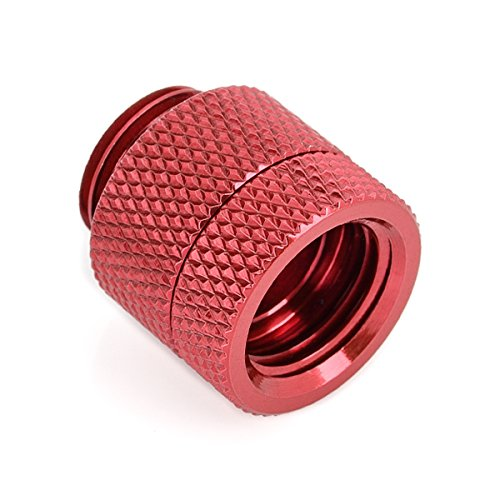 Bits Power G1/8 - IG 1/4 inch Conversion Anti Twist Adapter Deep Blood Red (BP-DBRDR-C) by Bits Power (Image #3)