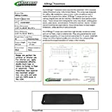 """SafePath Products RAEZ1310 EZEdge 1 1/2"""" Thick x 49 5/8"""" Wide x 15.0"""" Transition/Threshold Ramp"""
