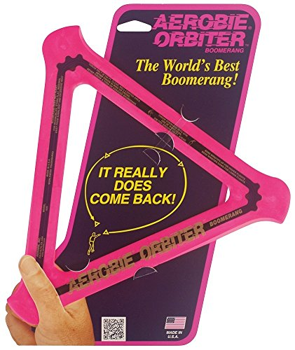 Aerobie Orbiter Boomerang - Single Unit (Pink) by Aerobie