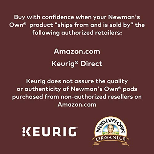 Large Product Image of Newman's Own Organics Special Blend Keurig Single-Serve Medium Roast Coffee K-Cup Pods, 32 Count