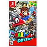 CONSOLE_VIDEO_GAMES  Amazon, модель Super Mario Odyssey - Nintendo Switch, артикул B01MY7GHKJ