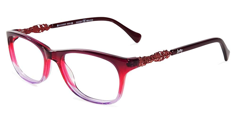 LUCKY BRAND Eyeglasses PALM Raspberry 52MM