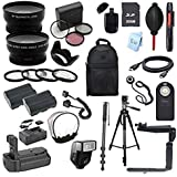 Canon EOS 40D Digital SLR Camera Everything You Need Accessory Bundle