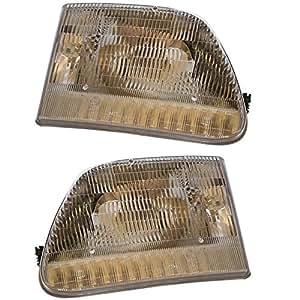prime choice auto parts kapfd10081a1pr headlight pair automotive. Black Bedroom Furniture Sets. Home Design Ideas