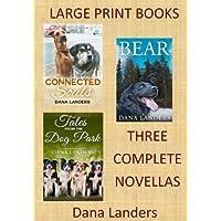Large Print Books:3 Complete Novellas: Large Type Books for Seniors