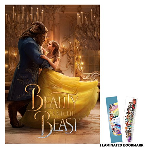 Beauty and the Beast (2017) - Dance 2 - 13 in x 19 in Movie Poster Flyer Borderless + Free Bookmark