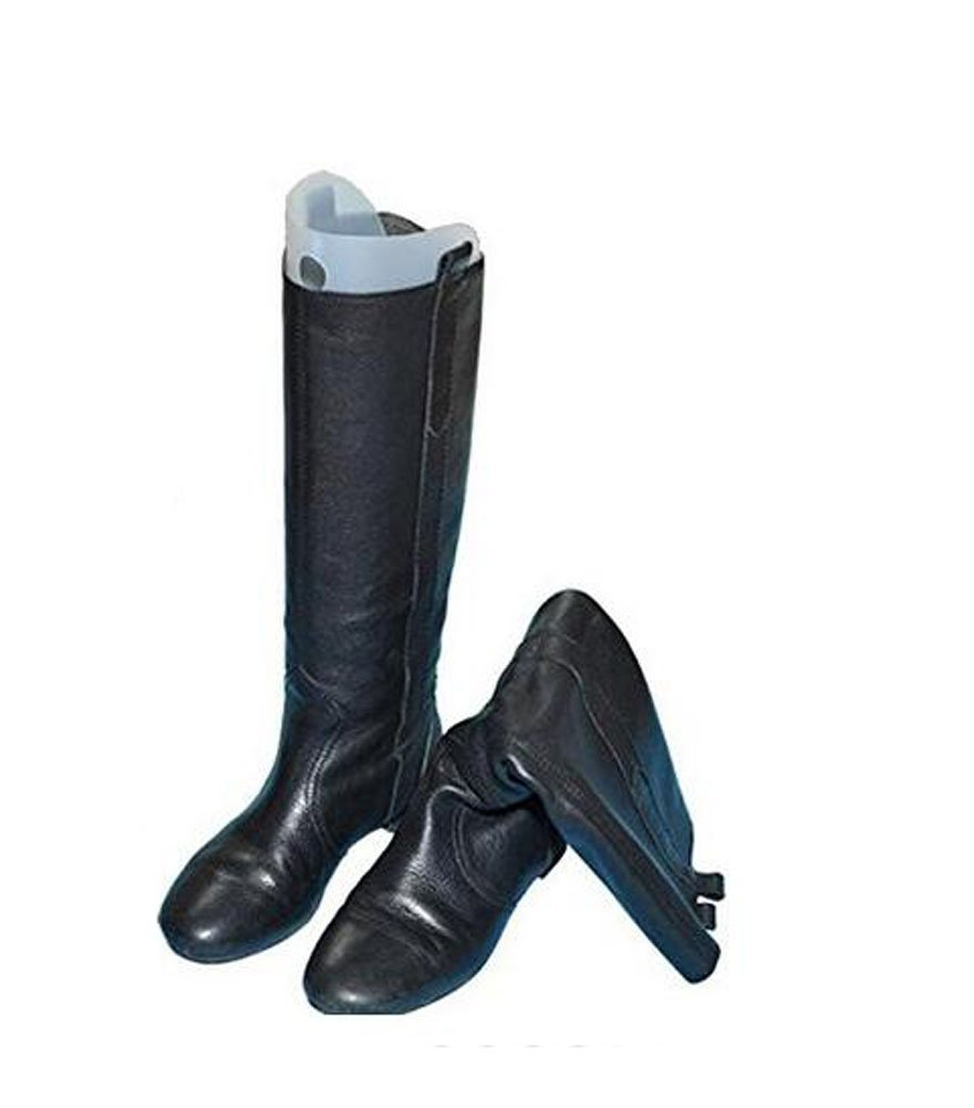 2Pair(4PCS) Multifunction Thicken Automatic Support Shape Shoe Tree Tall Short Boot Shaper Tree Inserts Knee High Shoes Thigh Boot Holder Hanger for Women Lady Most Shoes (14'' height)