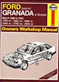 Ford Granada and Scorpio ('85 to '94) Owners Workshop Manual (Haynes Owners Workshop Manuals)