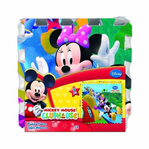 5ba6ad2b3a7 Diset Mickey Mouse Club House - Puzzle Foam 46836  Amazon.es  Juguetes y  juegos