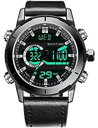 Mens Sport Watch Digital Analog Waterproof...