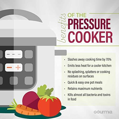 Gourmia GPC625 Multi-Mode Pressure | | | 24-Hour Delay Timer | LCD Display Pressure | Free