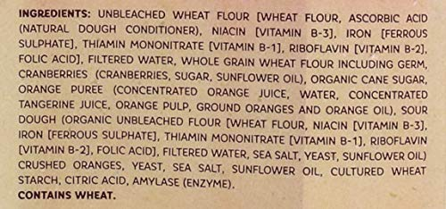 OZERY BAKERY Morning Round Pita Bread, Cranberry Orange, 12.7 Ounce (Pack of 12) by Ozery Bakery Inc. (Image #3)