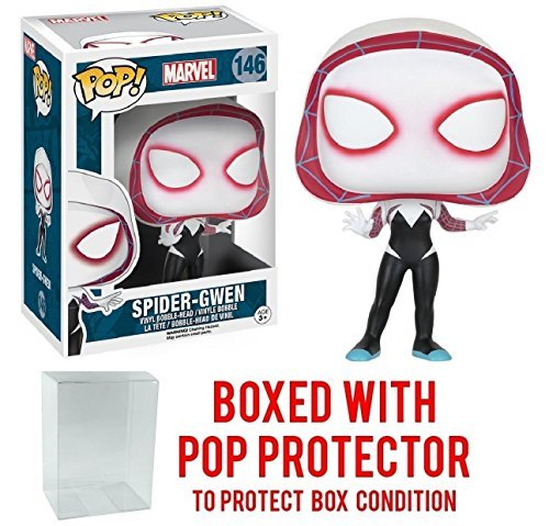 Marvel Spider-Man Spider-Gwen Funko Pop with Box Protector -