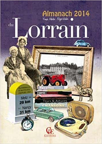 Livre gratuits Almanach du lorrain 2014 epub, pdf