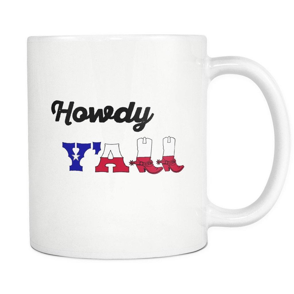 Amazon.com: Howdy y all Sur de botas de vaquero de bandera ...