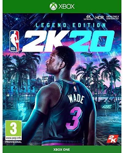 Nba 2K20 Legend Edition - Special Limited - Xbox One [Importación italiana]: Amazon.es: Videojuegos