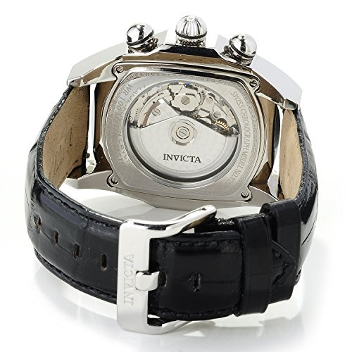 Invicta Men's 12599 Dragon Lupah Swiss Valjoux 7750 Alligator Strap Watch