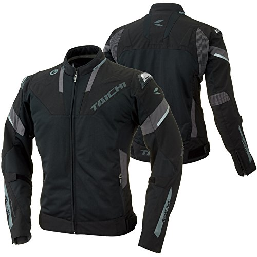 RS Taichi RSJ318 Armed High Protection Mesh Jacket Black Large (More Color and Size Options)