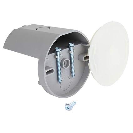 install ceiling fan plastic box