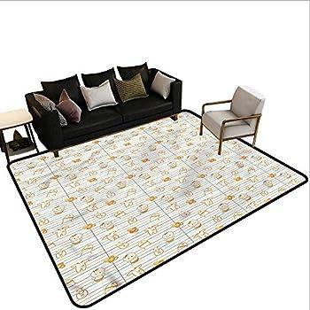 Image of Home and Kitchen Baby,Floor Mat Entrance Doormat 80'x 96' Cartoon Infant Design Carpet mat