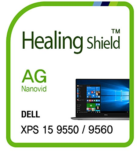 - Screen Protector for Dell XPS 15 9550 Touchscreen (Also it fits XPS 15 9560 Touchscreen Perfectly), Anti-Glare Matte Screen Protector LCD Shield Guard Healing Shield Film