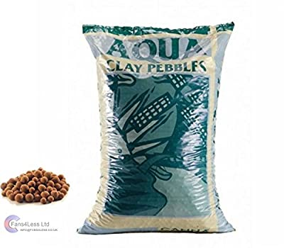 QUALITY CANNA Aqua Clay Pebbles 10, 25 & 45 Litre Bag Hydroponics Growing Media (10 Litre) by CANNA