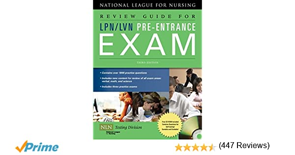 Review guide for lpnlvn pre entrance exam 9780763762704 review guide for lpnlvn pre entrance exam 9780763762704 medicine health science books amazon fandeluxe Images